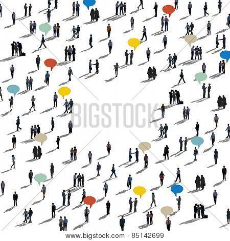 Diversity Global Community Communication Variation Concept