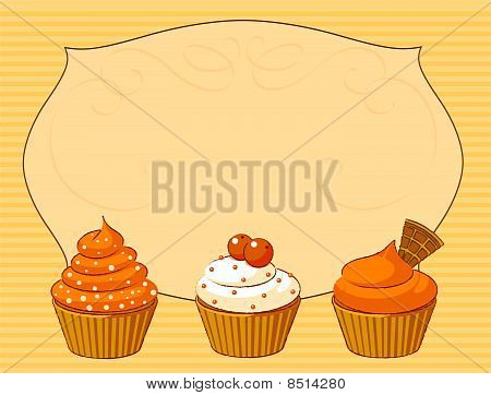 Thanksgiving Cupcake Place Card