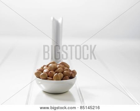 spoon full of ground nuts