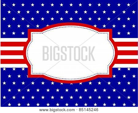 USA national day background