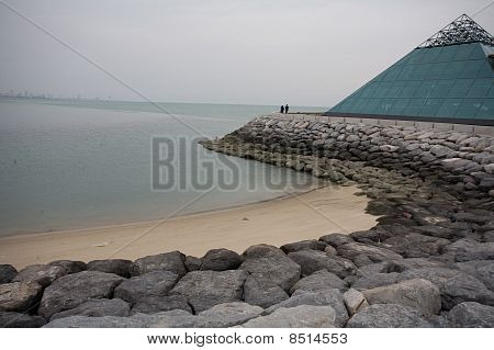 Beachfront in Kuwait City