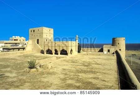 Sohar Fort Oman. Castle