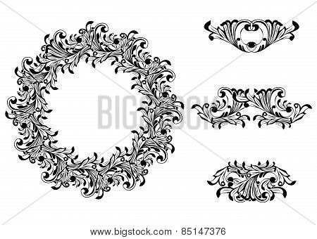 Victorian Decorative Element Set
