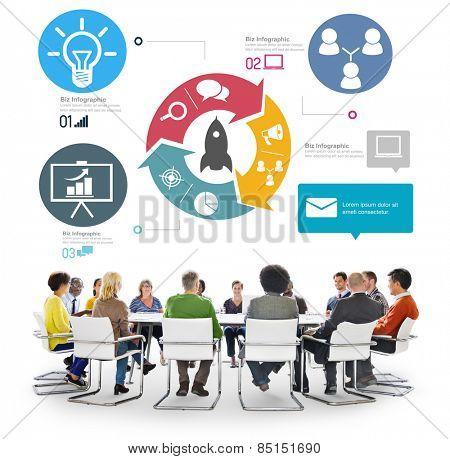 Business Teamwork Innovation Start Up Success Growth Concept