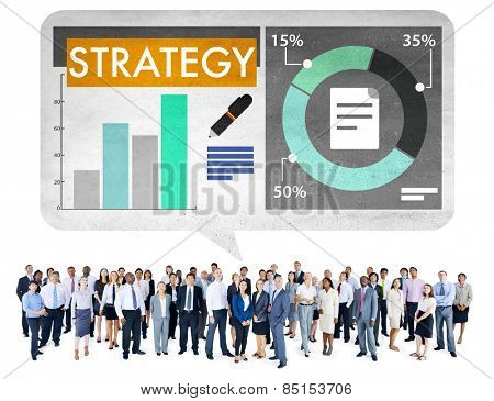 Strategy Business Statistics Tactics Team Concept