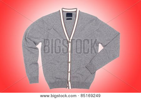 Male sweater isolated
