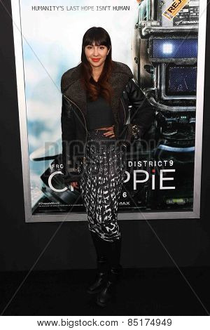 NEW YORK-MAR 4: Actress Jackie Cruz attends the premiere of