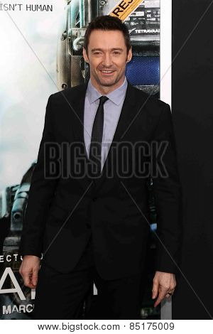 NEW YORK-MAR 4: Actor Hugh Jackman attends the premiere of