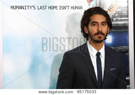 NEW YORK-MAR 4: Actor Dev Patel attends the premiere of