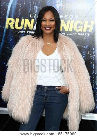 NEW YORK-MAR 9: Actress Garcelle Beauvais attends the premiere of