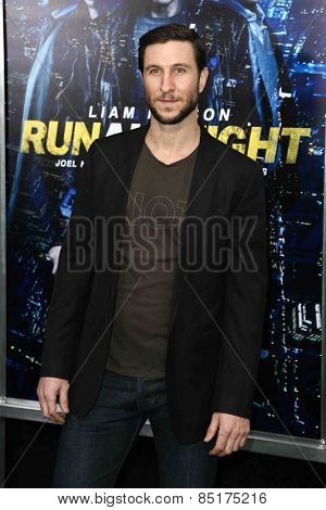 NEW YORK-MAR 9: Actor Pablo Schreiber attends the premiere of