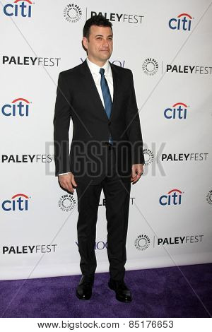LOS ANGELES - MAR 8:  Jimmy Kimmel at the PaleyFEST LA 2015 -