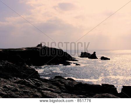 france morbihan quiberon peninsula cote sauvage presqu'ile savag