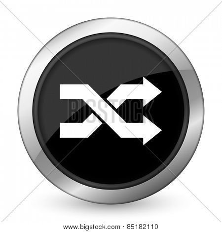 aleatory black icon