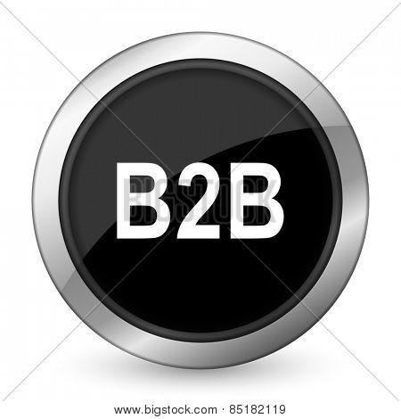 b2b black icon