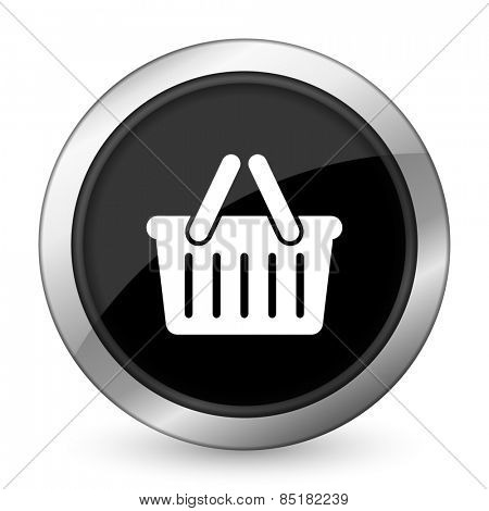cart black icon shopping cart symbol