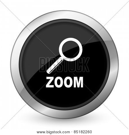 zoom black icon