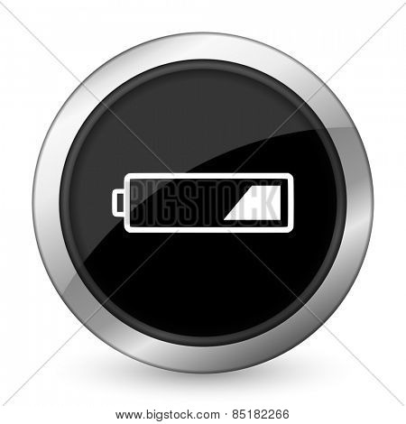battery black icon charging symbol power sign
