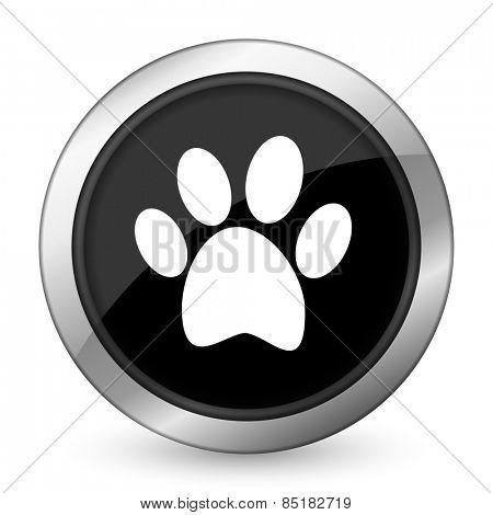 foot black icon