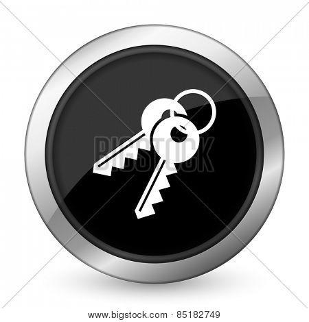 keys black icon