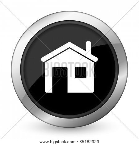 house black icon home sign