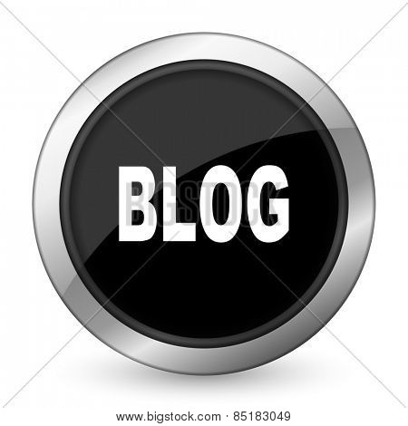 blog black icon