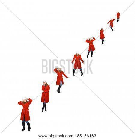 Very Long Line Big Group