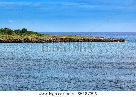 ocean bay on a sunny day