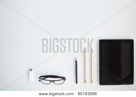 Writing instruments, glasses, memory stick and touchpad