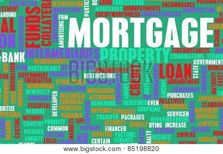 Mortgage Financial Home Loan as a Concept