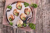 pic of escargot  - bourgogne escargot - JPG