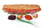 stock photo of french curves  - french sandwich  - JPG