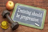 picture of red barn  - training should be progressive  - JPG