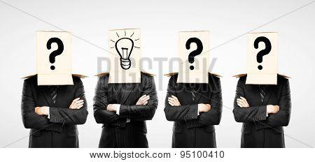 Four Businessman
