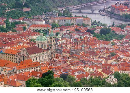 Prague Saint Nicholas Church And Lesser Town
