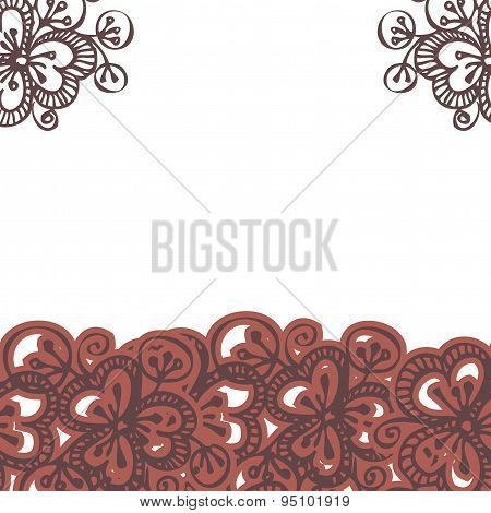beautiful bright floral seamless pattern