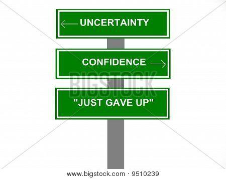 Economy Concept Sign