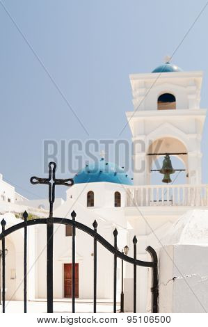 White Church And Belfry
