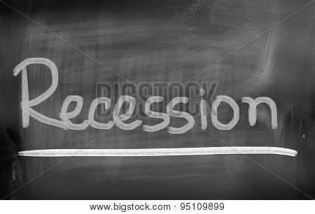 Recession Concept
