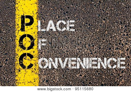 Business Acronym Poc As Place Of Convenience