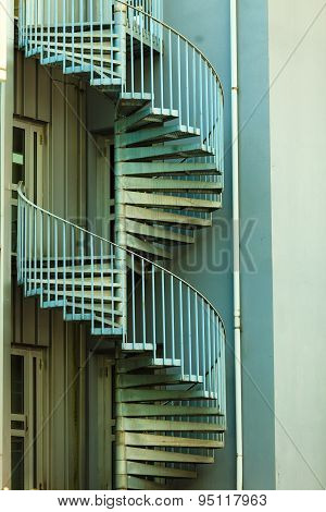 View Of A Spiral Staircase