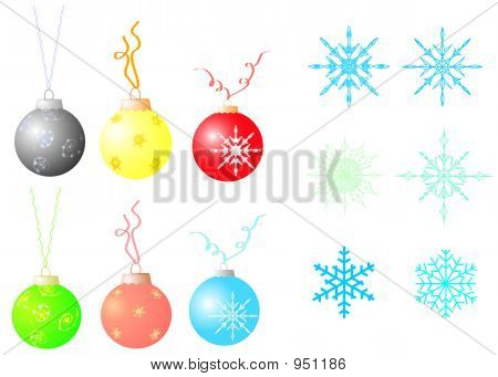 Christmas Design Elements.