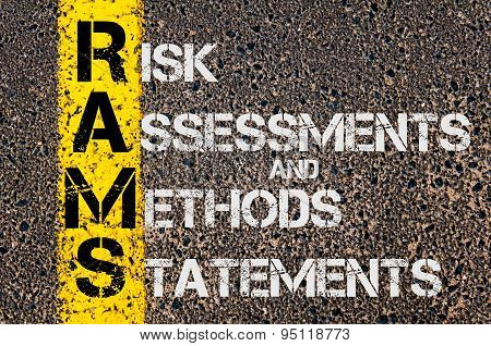 Business Acronym Rams As Risk Assessments And Methods Statements