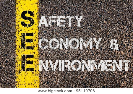 Business Acronym See As Safety Economy And Environment