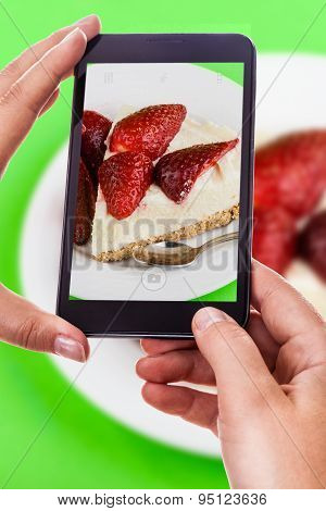 Photographing A Fruit Cake