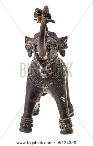 Indian Elephant Figurine