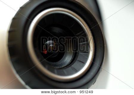 Lente de la webcam