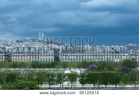 Paris - Tuileries And Montmartre
