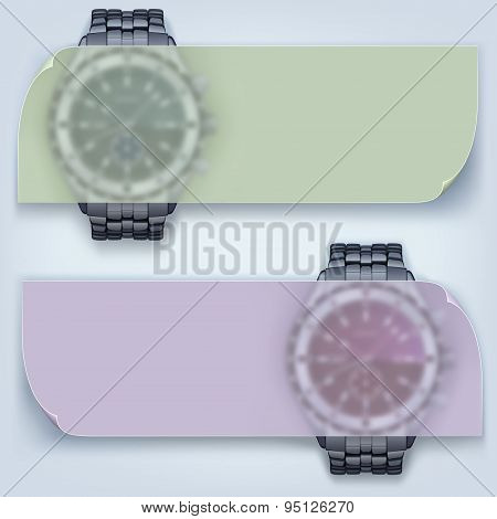 watches with banner