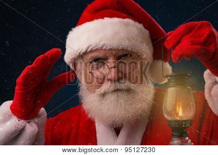 Eavesdropping Santa Claus